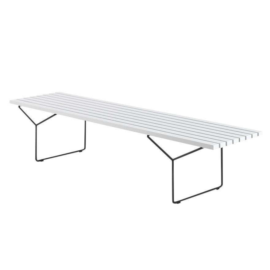 Knoll International Bertoia Outdoor Bench AmbienteDirect - Bertoia coffee table