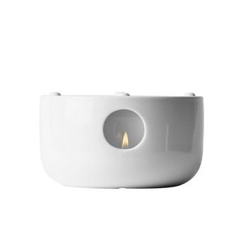 Menu - Kettle Stövchen für Teekanne - weiß/H 10cm, Ø 13,2cm