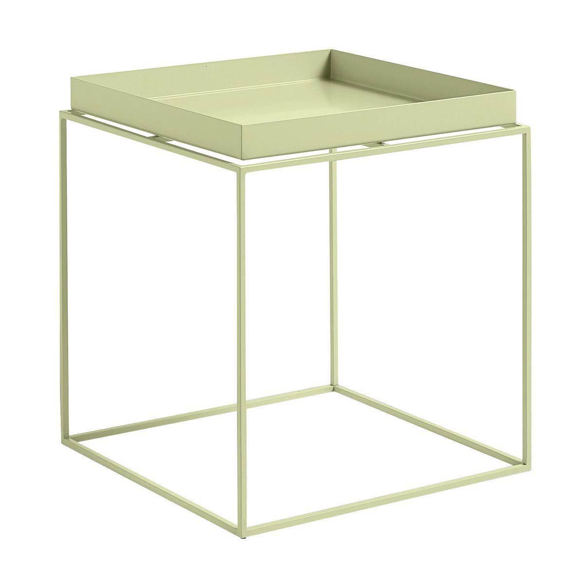 tray table beistelltisch quadratisch hay. Black Bedroom Furniture Sets. Home Design Ideas