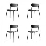 &tradition - Set de 4 chaises Pavilion AV1