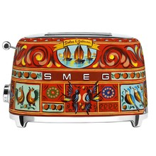 Smeg - Limited Edition D&G TSF01 Toaster 2 Slices