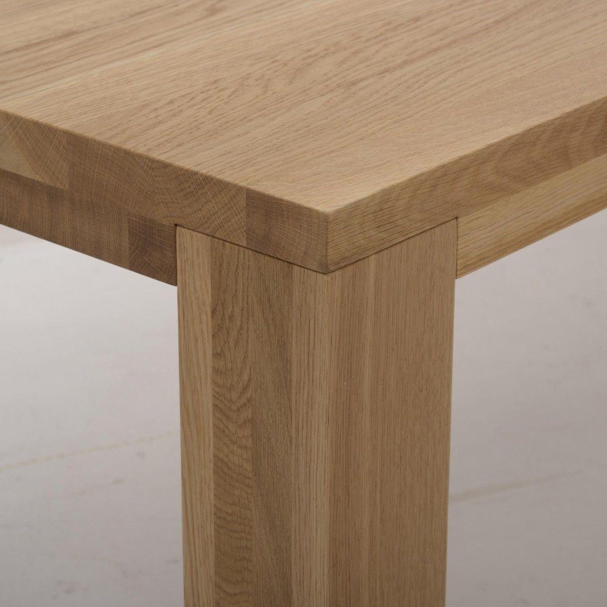 Loft table de salle manger en bois massif adwood for Salle a manger bois massif