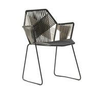 Moroso - Chaise avec accoudoirs Tropicalia