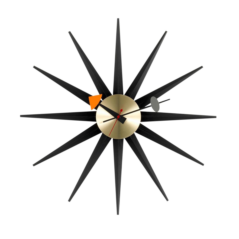 Vitra Sunburst Clock Nelson Horloge Murale Ambientedirect