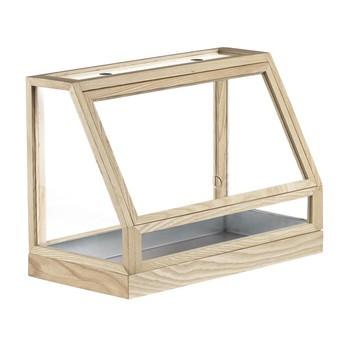 DesignHouseStockholm - Greenhouse Mini Gewächshaus - Esche/lackiert/Nur für den Innenbereich geeignet!/48x34x24cm