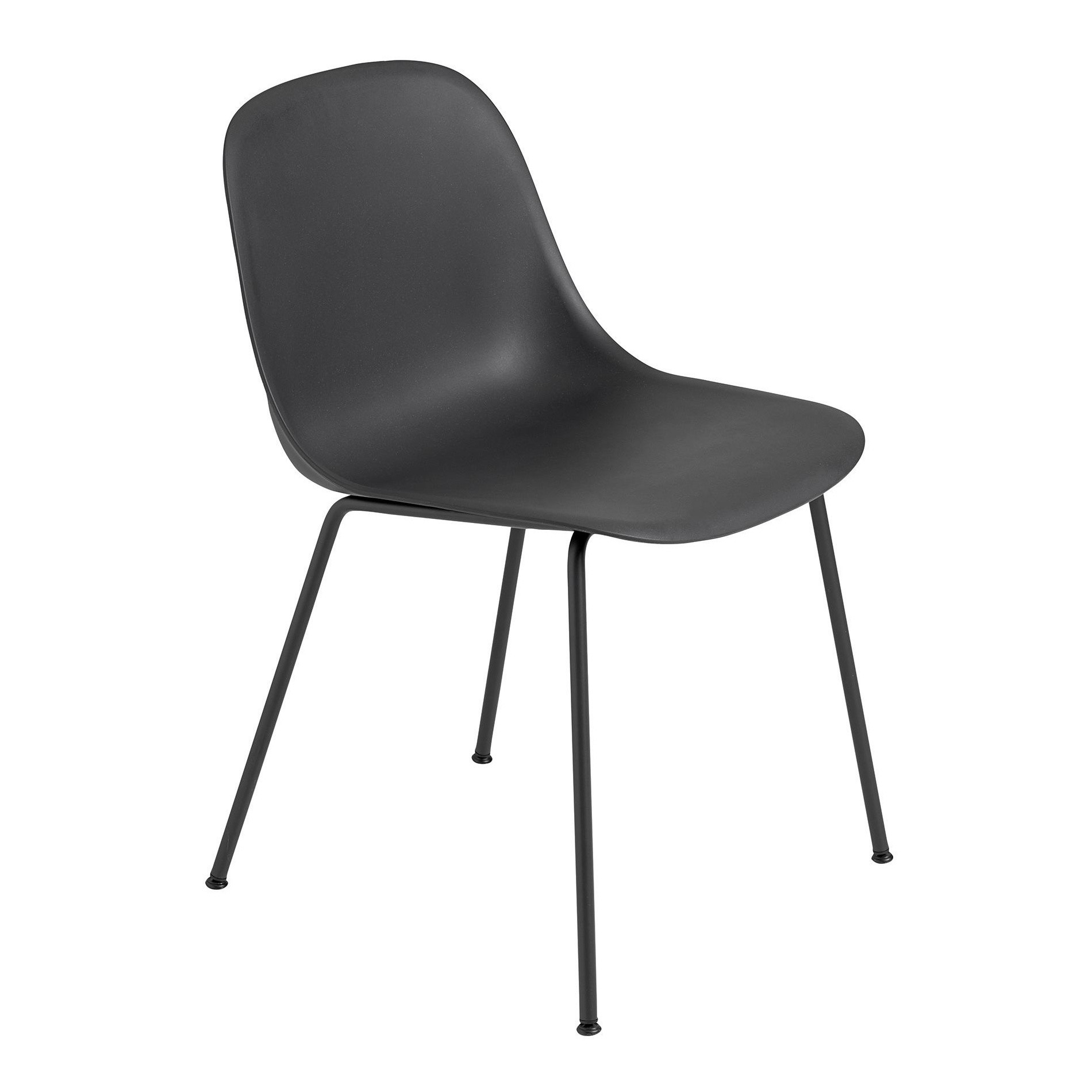 Fiber Chair With Tube Base