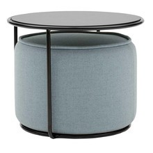 Softline - Tabouret avec table d'appoint Tom