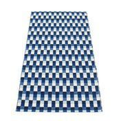 pappelina - Mose Teppich 70x150cm - diverse/blau