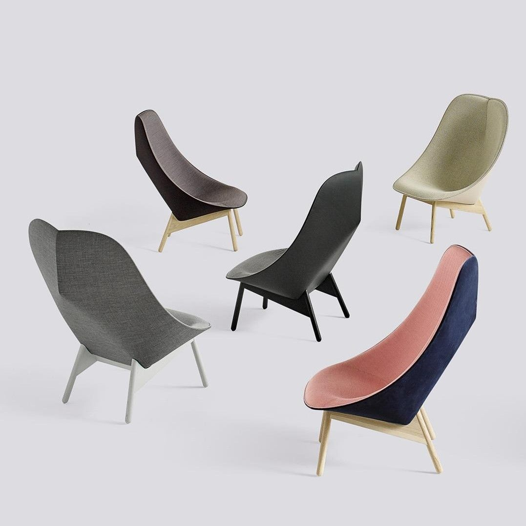 Uchiwa Lounge Chair Frame Grey Hay Ambientedirect Com