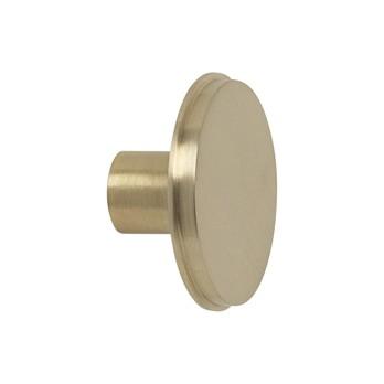 ferm LIVING - Brass Wandhaken Ø 5cm