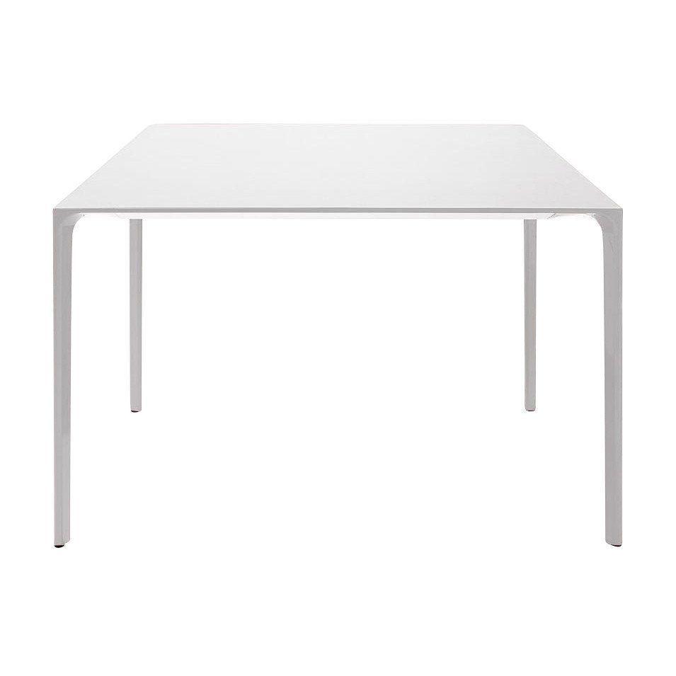 Tischplatte weiß matt  Arper Nuur Esstisch 100x100cm | AmbienteDirect