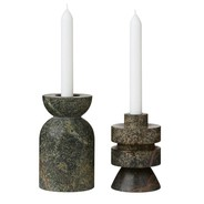 Tom Dixon - Rock Candle Holder M Set of 2
