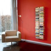 Radius - Booksbaum Wandregal groß - weiß/18 Fächer/170x36cm