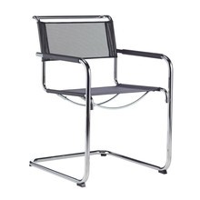 Thonet - Chaise cantilever avec accoudoirs S 34 N