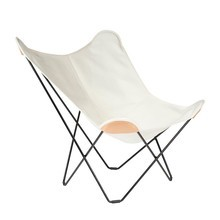 cuero - Canvas Mariposa Butterfly Chair -Tuinfauteuil
