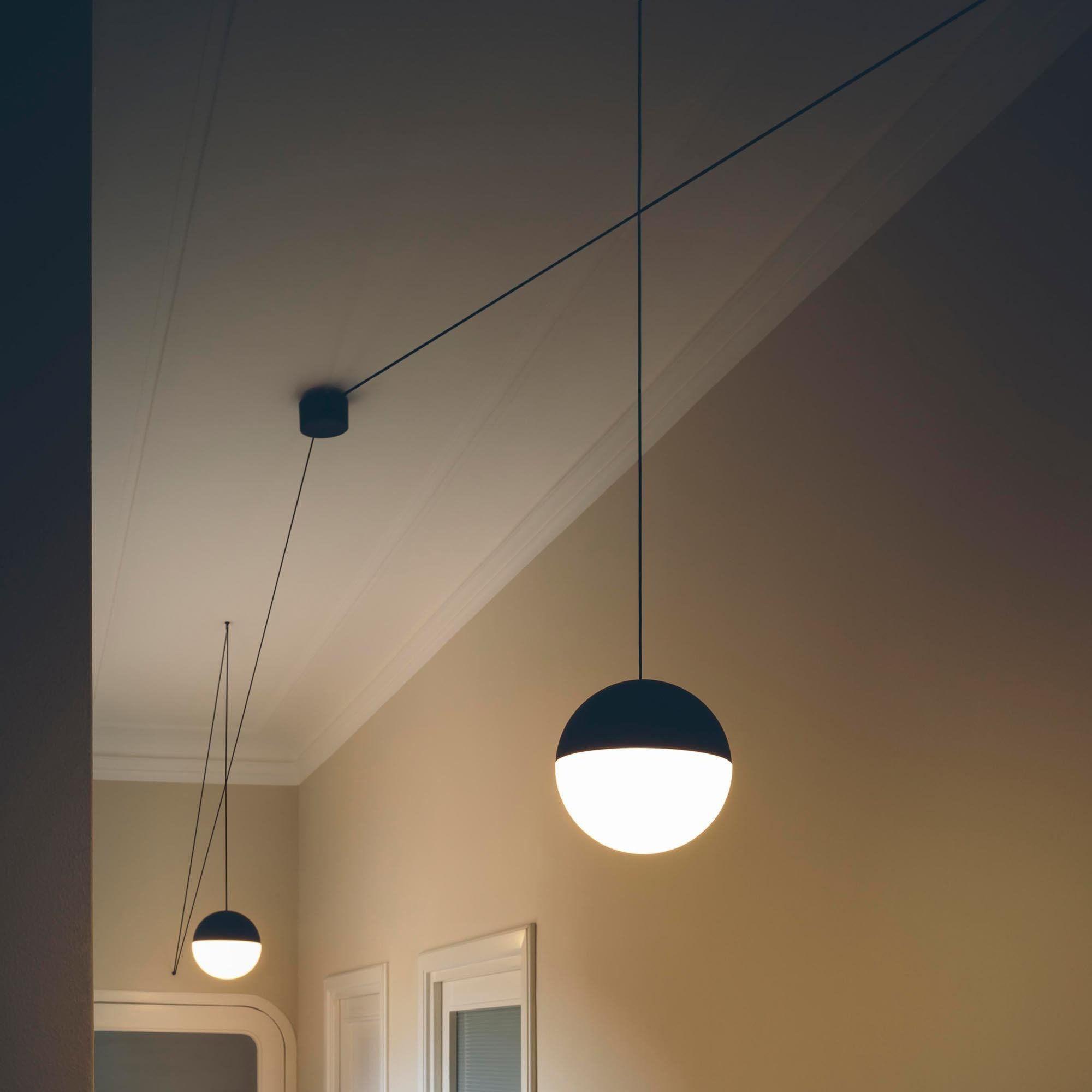 flos string lights led pendelleuchte ambientedirect. Black Bedroom Furniture Sets. Home Design Ideas