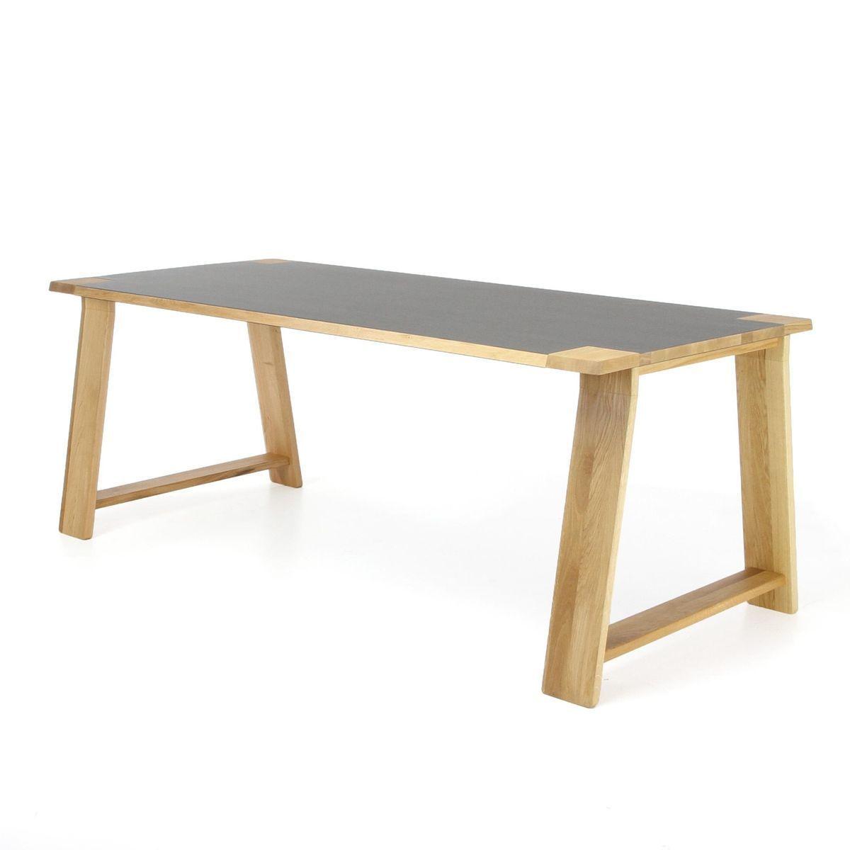 Lino table de salle manger en bois adwood for Table de salle a manger hemisphere sud