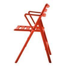 Magis - Folding Air Chair mit Armlehnen