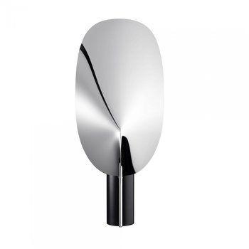 Flos - Serena LED Tischleuchte - aluminium/BxH 26,8x63,4cm/mit Dimmer