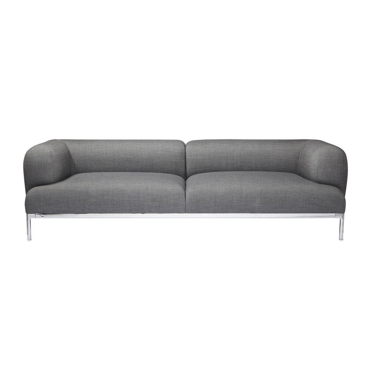 Sofa modern grau  Bjørn 3 Seater Sofa | HAY | AmbienteDirect.com