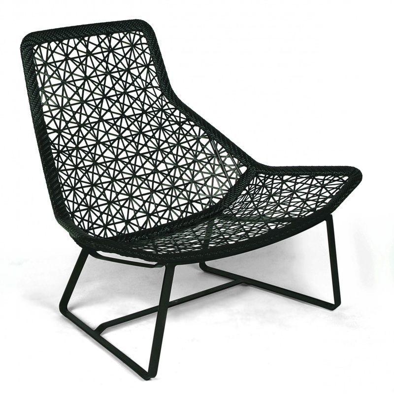 Maia relax armchair garden chair kettal - Rocking chair de jardin ...