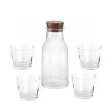 Alessi - Tonale Set Carafe + 4 Glasses
