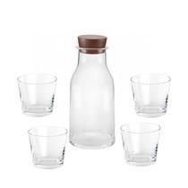 Alessi - Tonale Set Karaffe und 4 Gläser