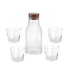 Alessi - Tonale Set Carafe plus 4 Glasses
