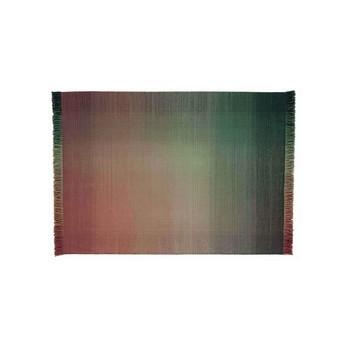 Nanimarquina - Shade Palette 3 Wollteppich - mehrfarbig/rot/grün/Kilim: 100% neuseeländische Wolle/170x240cm/Dichte: 75.000 Knoten/m2/H 0.6cm/Gewicht:1.5 kg/m2
