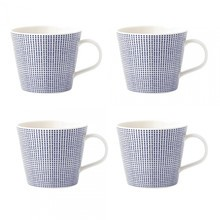 Royal Doulton - Pacific Dots Tasse 4er Set