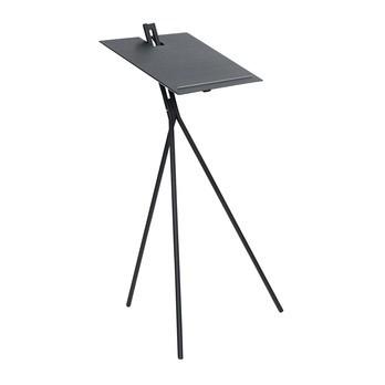 ClassiCon - Notos Stehpult - Esche schwarz/Gestell tiefschwarz (RAL 9005)/H 140cm