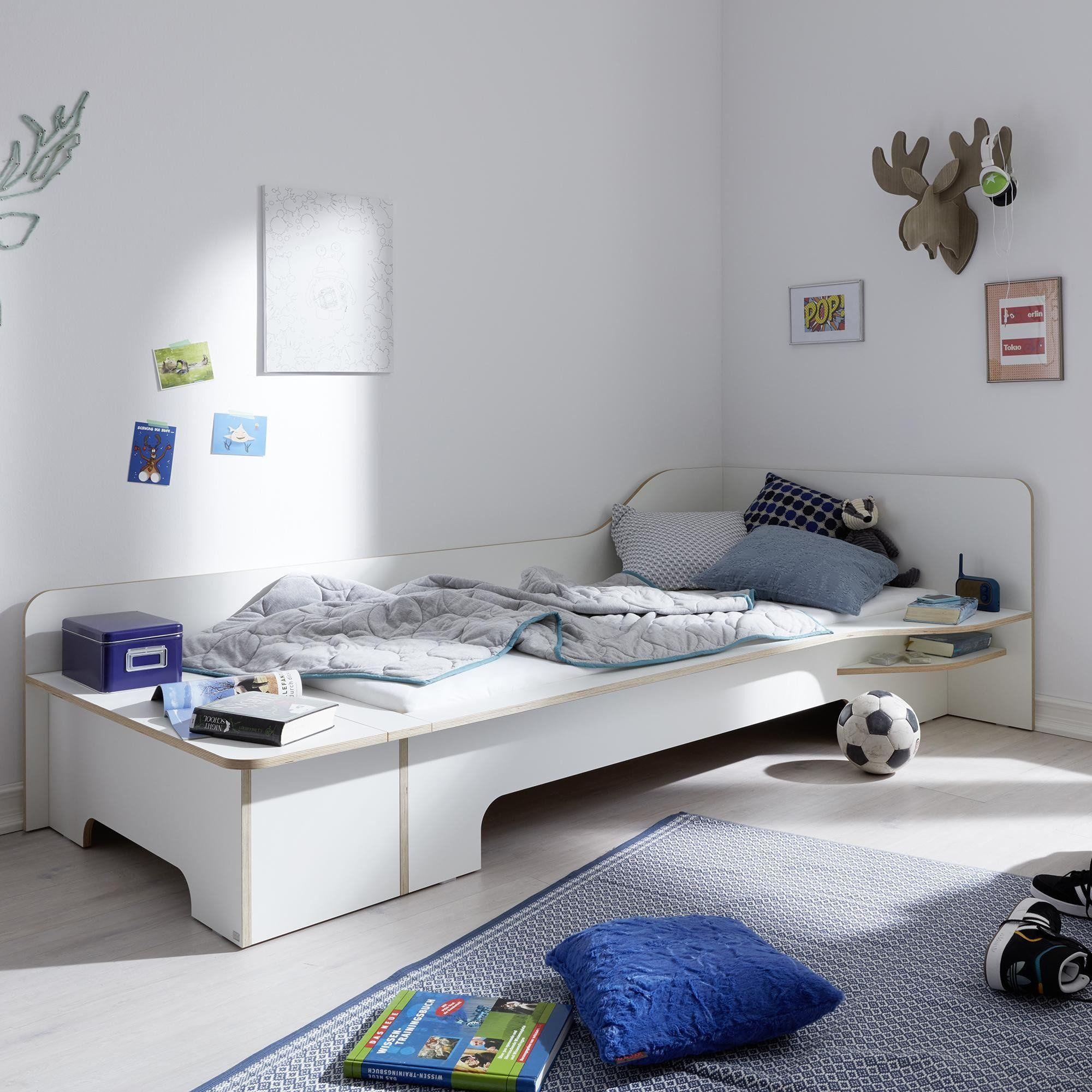 Einzelbett design  müller möbelwerkstätten Plane Einzelbett | AmbienteDirect