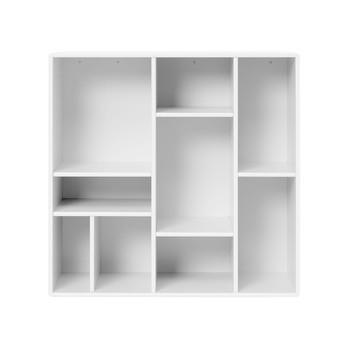 Montana - Compile Wandregal 69,6x69,6x30cm - new white 101/lackiert