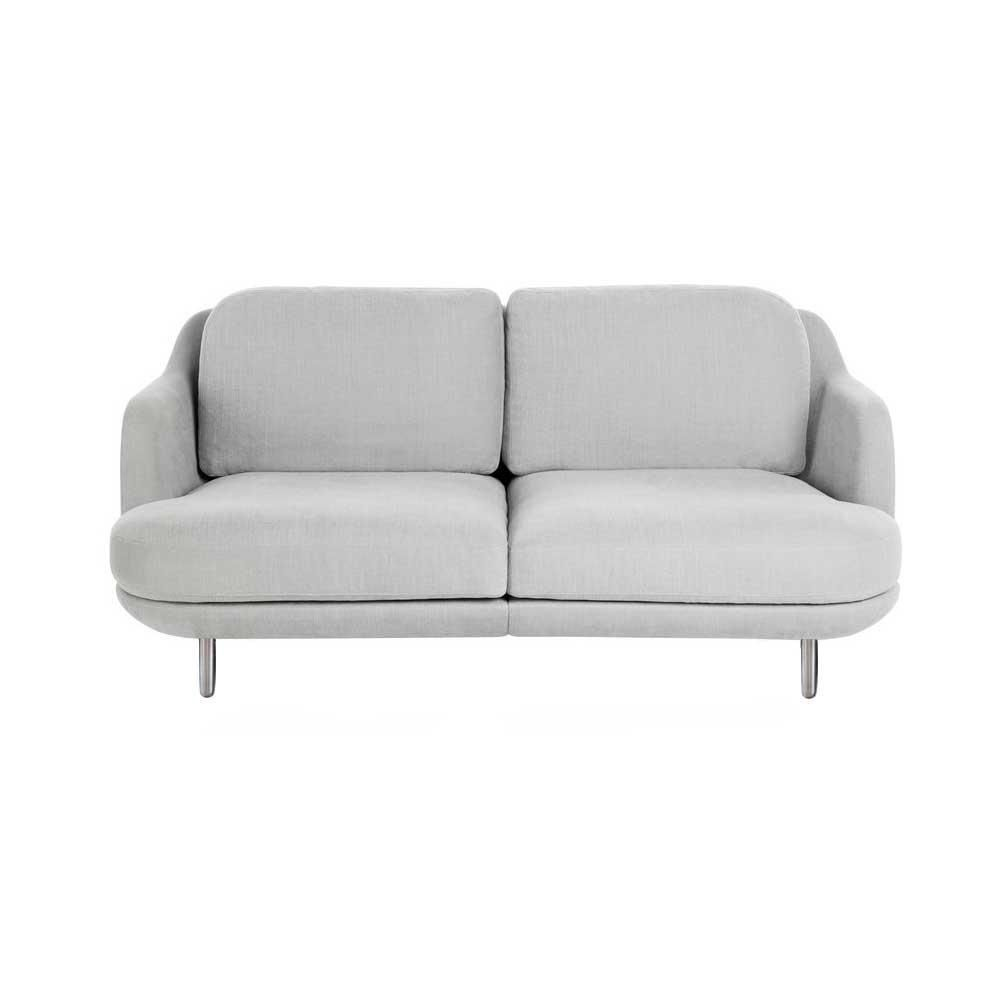 Lounge sofa 2 sitzer outdoor  Lune 2-Seater Sofa 155 x 93.5 cm | Fritz Hansen | AmbienteDirect.com