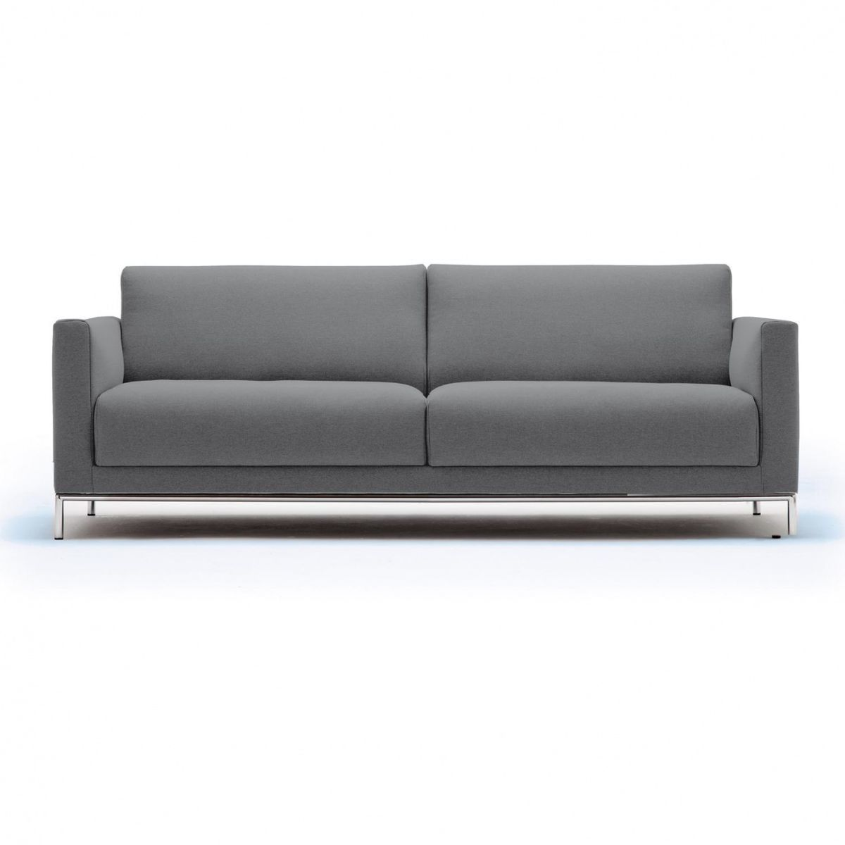 Freistil 141 3 seater sofa frame chrome freistil rolf for Freistil 141 rolf benz