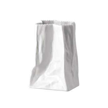 Rosenthal - Rosenthal Tütenvase H:14cm - weiß/glänzend