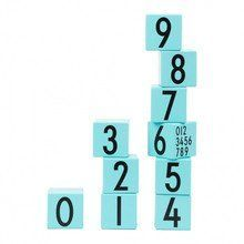 - Design Letters Wooden Cubes Numbers 0-9