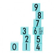 Design Letters - Design Letters Holzspielklötze Zahlen 0-9