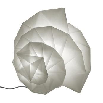 Artemide - IN-EI Mendori LED Tischleuchte - weiß/435 lm/inkl. Leuchtmittel/Lichtfarbe 3000 Kelvin warmweiß/LxBxH 50x48x44cm