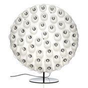 Moooi - Prop Light Round LED Stehleuchte - weiß RAL 9016/2000K/ 1800lm/Ø 73cm/ H: 82cm