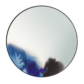 Petite Friture - Francis Wandspiegel Ø45cm - blau