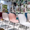 Gubi - Beetle Dining Chair Stuhl Gestell Chrom
