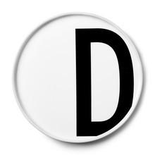 Design Letters - Design Letters Porcelain Plate A-M