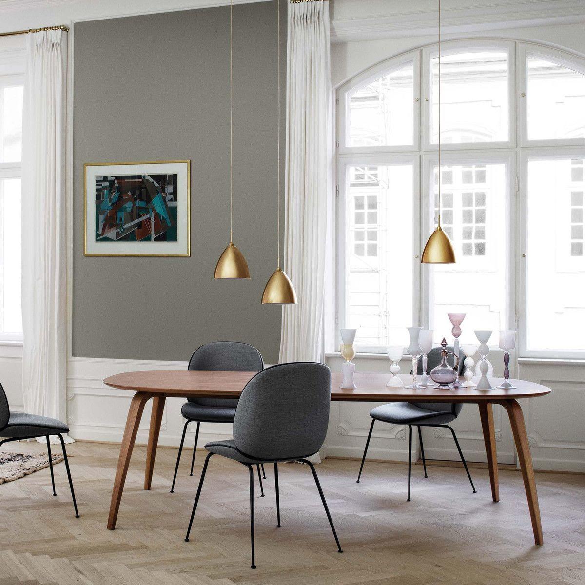 Gubi Dining Table Elliptical Gubi Ambientedirect Com