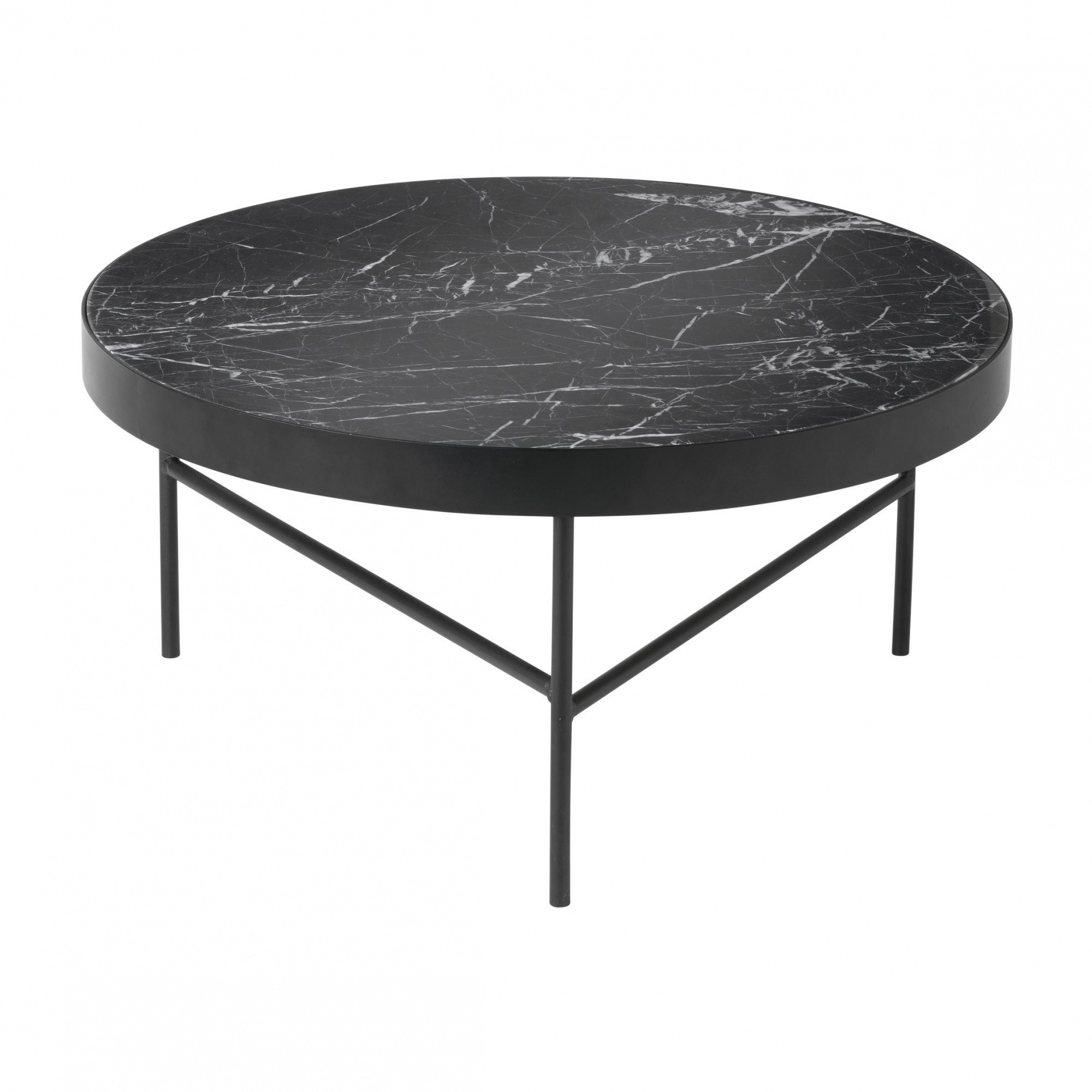 Ferm Living Marble Couchtisch Gross Ambientedirect