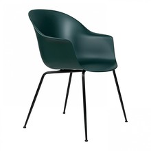 Gubi - Bat Dining Chair Gestell schwarz