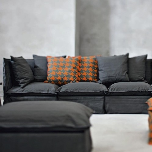 Gervasoni - Ghost Sofa + Ottomane