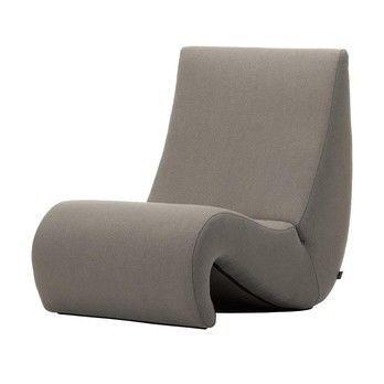 Vitra - Amoebe Lounge Sessel - trüffel braun/Stoff Tonus 43