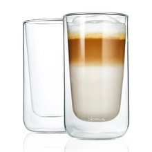Blomus - Nero Latte Macchiato Glass Set of 2