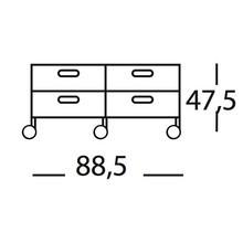 Magis - Plus Unit 4 drawers